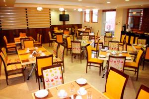 Comedor del Victoria Regia Hotel Suites