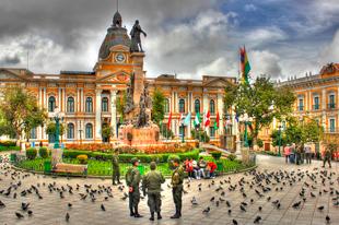 plaza de bolivia