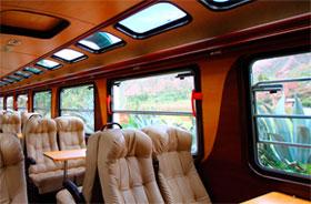 Servicio turista de Inca rail