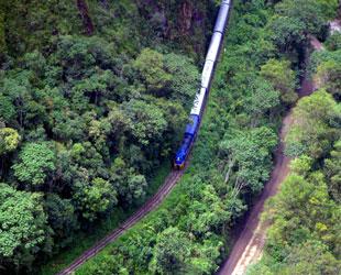Peru rail train service