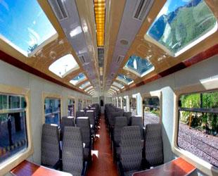 Tren Vistadome - PeruRail