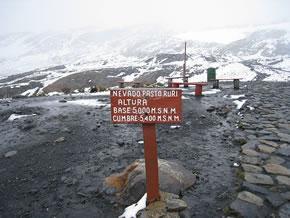 nevado pastoruri ancash