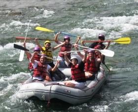Canotaje en el Rio Cusipata
