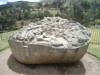 Piedra tallada de Sawite