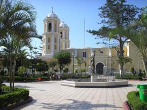 plaza de armas chiclayo