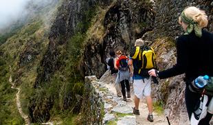 Inicio Camino Inca a Machupicchu
