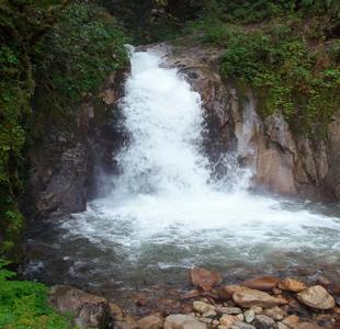Vistas en el Camino Salkantay