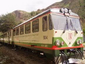 Servicio de tren Inka Rail