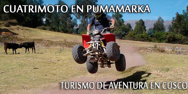Cuatrimoto en Circuito de Pumamarka - Cusco