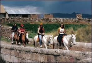 Cabalgata en Tipon - Cusco