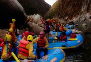 canotaje en el río apurimac