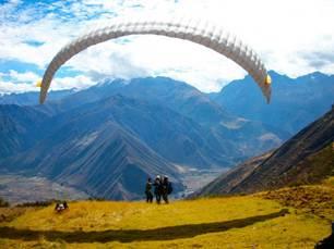 Parapente en Chinchero - Cusco