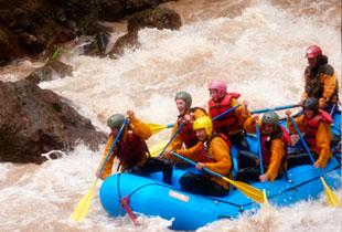 canotje en los rios vilcanota y chuquicahuana