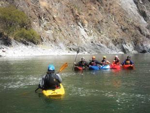 canotaje en ríos vilcanota y cusipata