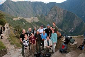 Vista Panoramica de Machupicchu, desde el Inti Punku