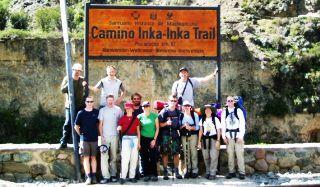 Inka Trail to Machupicchu