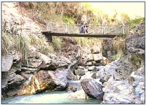 Wooden Bridge - Salkantay