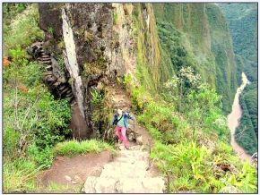 Vistas en el Camino Inca por la Selva