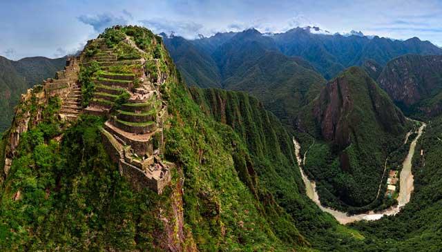 Vista Panoramico de Huayna Picchu