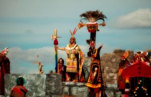 Inca en Sacsayhuaman