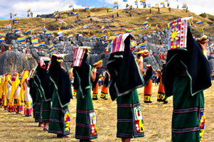 Ñustas del Inti Raymi Cusco