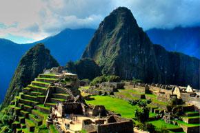 Atardecer de Machu Picchu