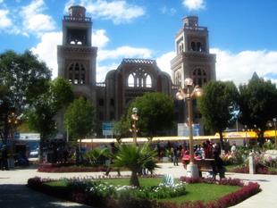 plaza de huaraz